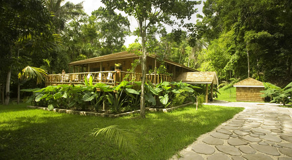 La Paz Group Chan Chich Lodge Belize